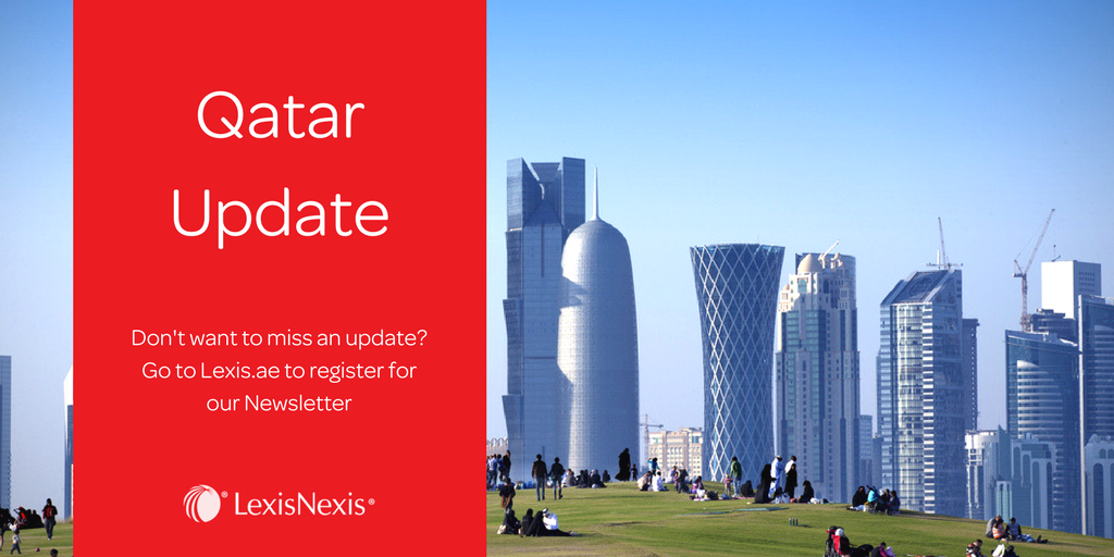 Weekly spotlight: Amendments to Tender and Auction Law in Qatar to be Reviewed