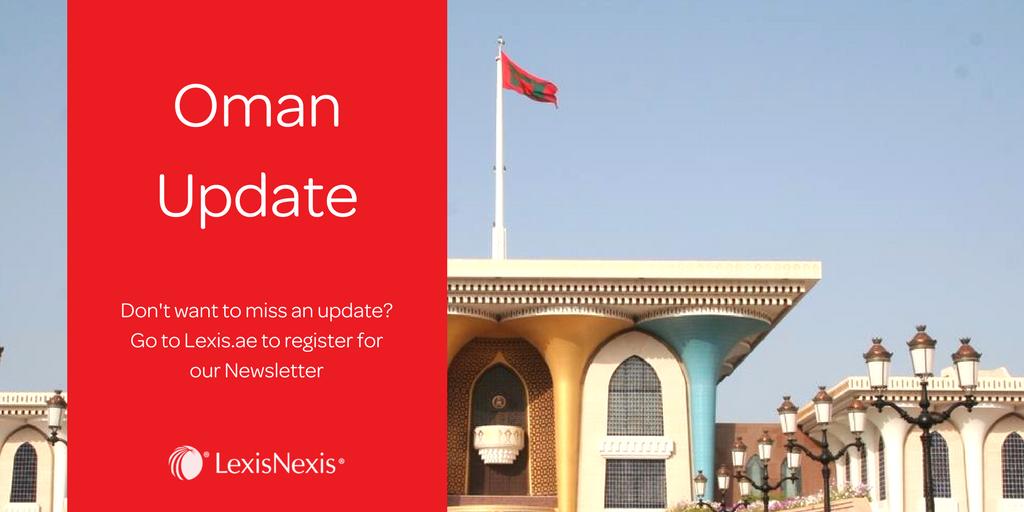Weekly Spotlight: Key Company Law Changes in Oman Sultani Decree No. 18/2019