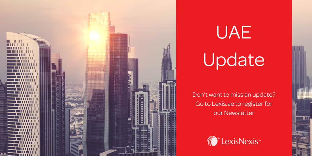 Weekly Spotlight: Open Letter Explaining Legislative and Regulatory Priorities in Dubai