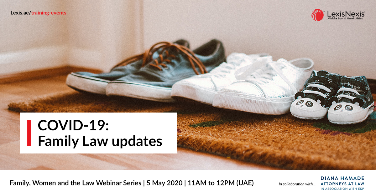 Family, Women and the Law Webinar Series | COVID-19 – Family Law updates | 5 May 2020