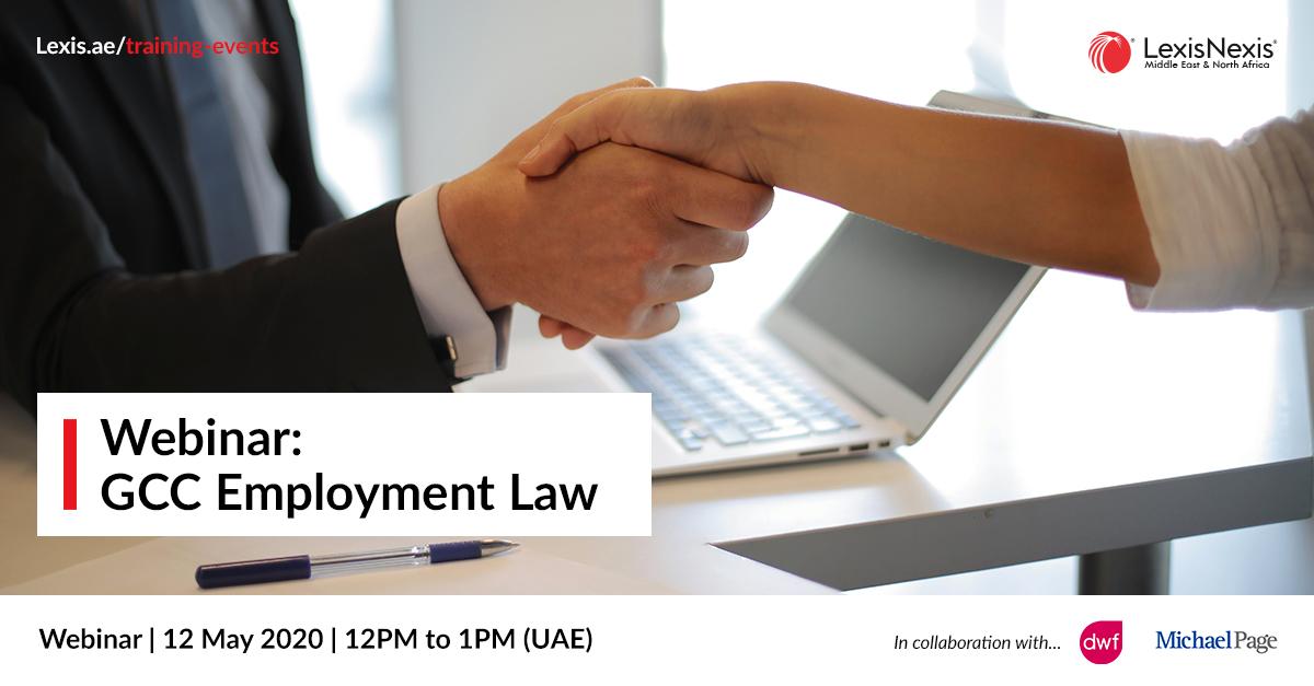 Webinar: GCC Employment Law | 12 May 2020